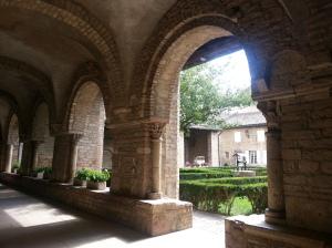 Tournus cloisters