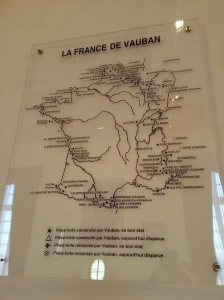 The sites of Vauban's works