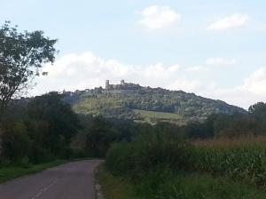 Vézelay from afar
