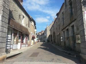 The Vézelay entrance