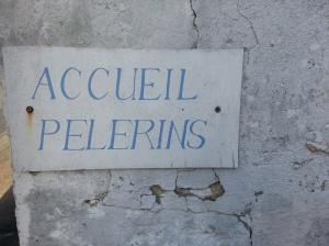 Accueil pelerins