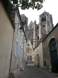 Cathedral glimpse