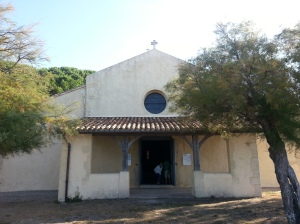 Church door outside