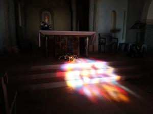Rainbow altar 2