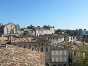 St Emilion roofs 1