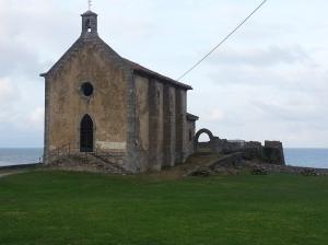 The Hermitage of St Catherine on Mundaka's headland