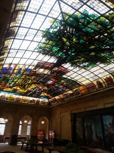 The stained glass room 1