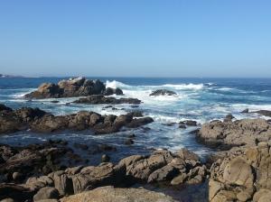 The A Coruña seafront on La Costa da Morte