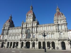 El Museo de Relojes in the Plaza de Maria Pita