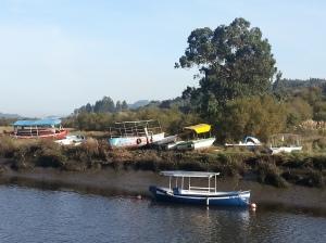 Betanzos boats