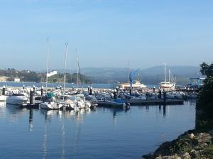 Ribadeo port