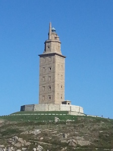 The enormous Tower of Hercules
