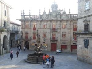 Silver shops of Plaza de Platerias