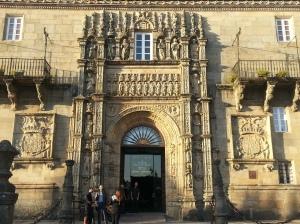The sumptuous Parador Hostel de los Reyes Catolicos