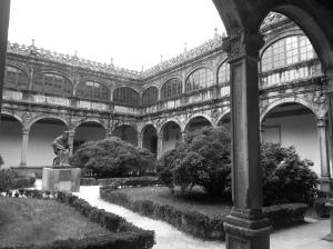 Colegio de Fonesca university cloisters