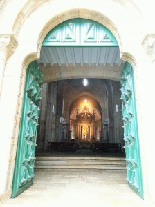 Monastery church door - Copy