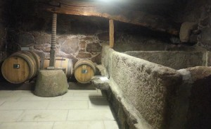 The old wine press