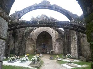 Cambados churchyard