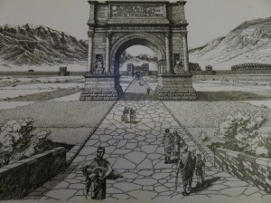 Arch in past