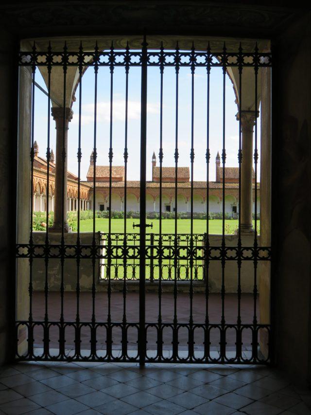 Certosa monks cloisters