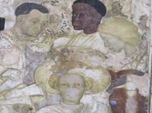 Frescoe palazzo old