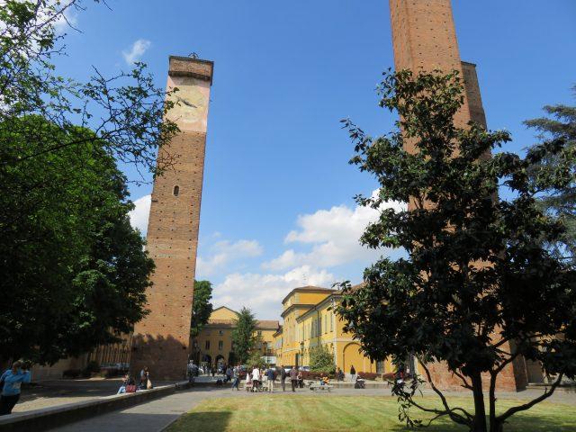 Pavia university towers