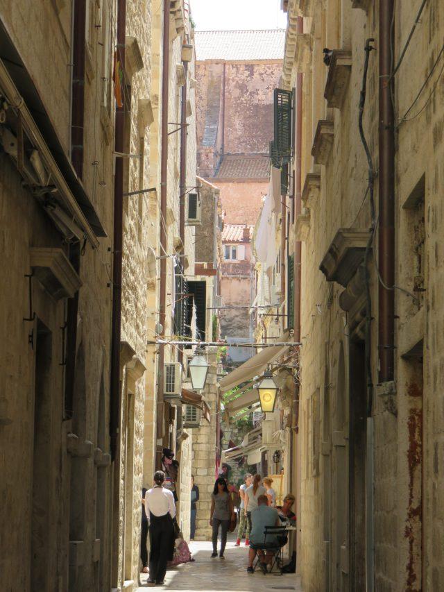 The alleyways of Dubrovnik