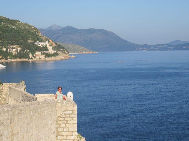 Walls overlooking the Adriatic