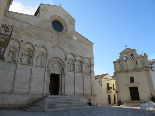 Termoli's Cathedral, dedicated to 'St Mary of the Purification'