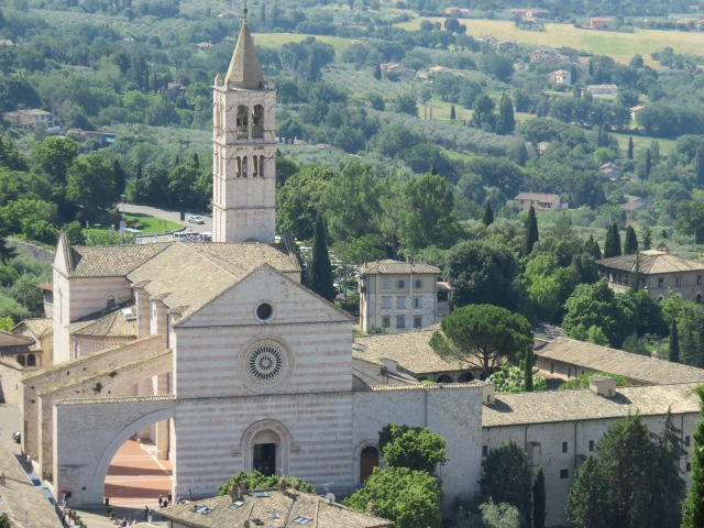 The Basilica of Santa Chiara