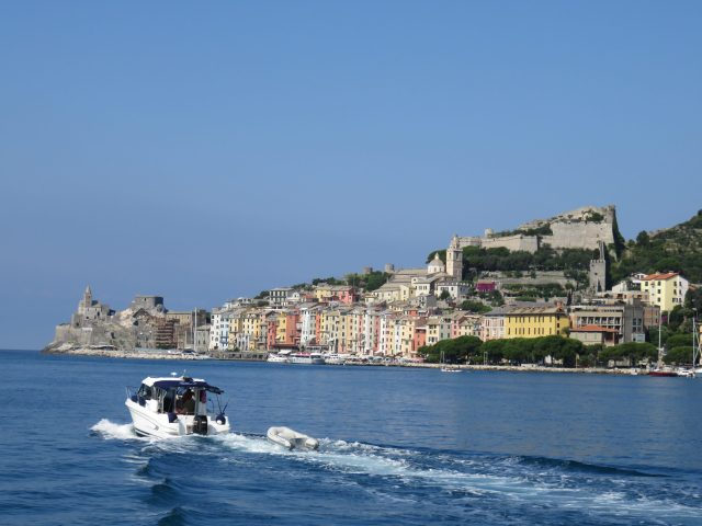 Setting off for Cinque Terre