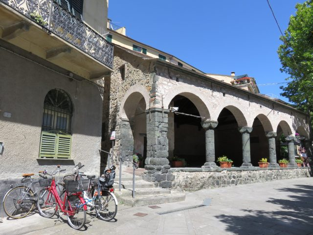 Levanto's medieval loggia